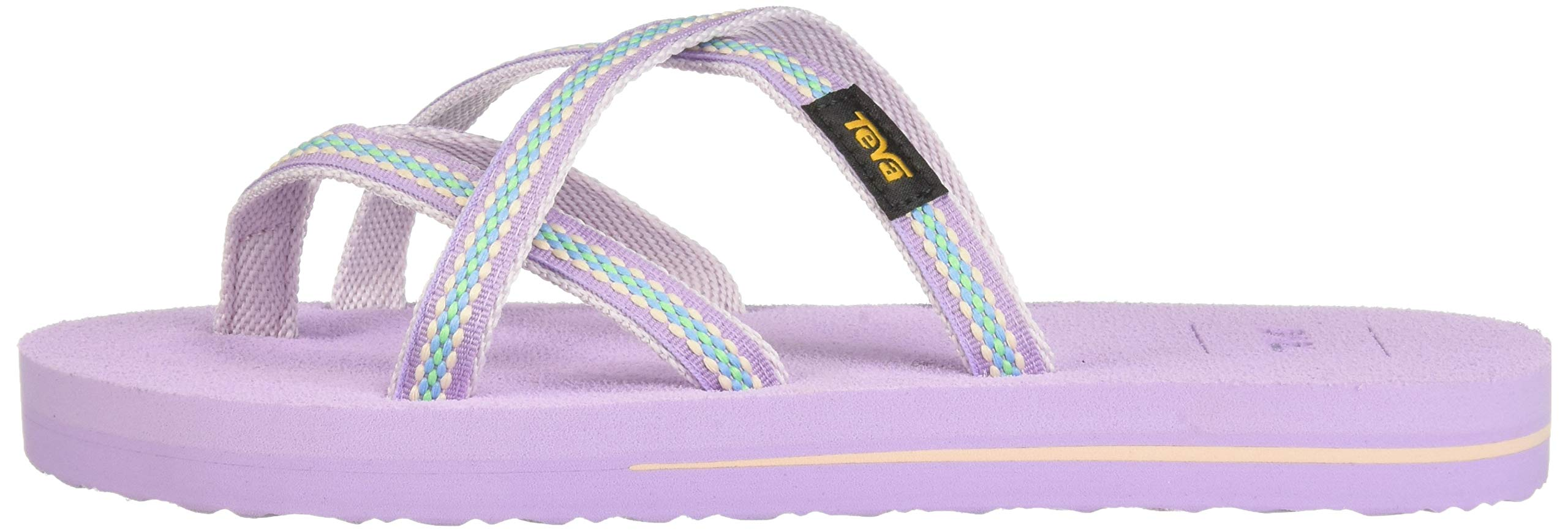 Teva Girls' Y Olowahu Sport Sandal, Lindi Orchid Bloom, 7 Medium US Big Kid by Teva (Image #5)