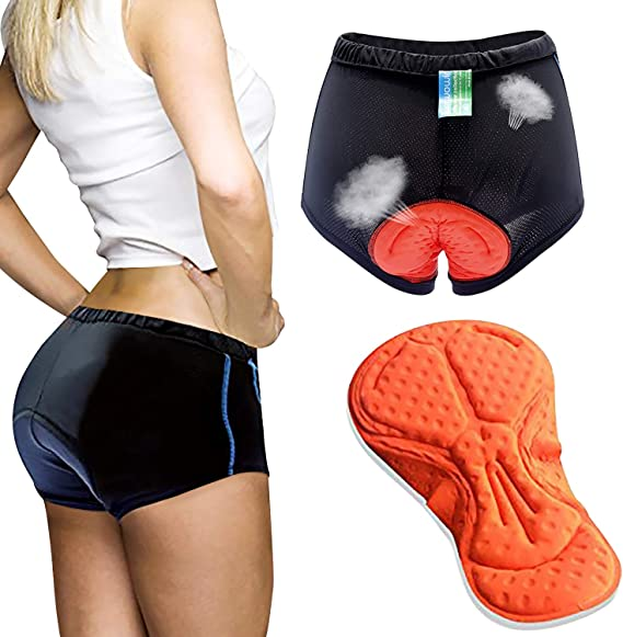 GIERTER Mens Cycling Underwear Short 3D Padded Bike Shorts Breathable /& Comfortable