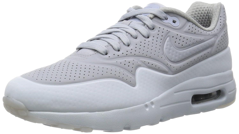 Nike Air Max 1 Ultra Moire Herren Sneakerss  41 EU|Gris / Plateado (Wolf Grey/Wolf Grey-pr Pltnm)