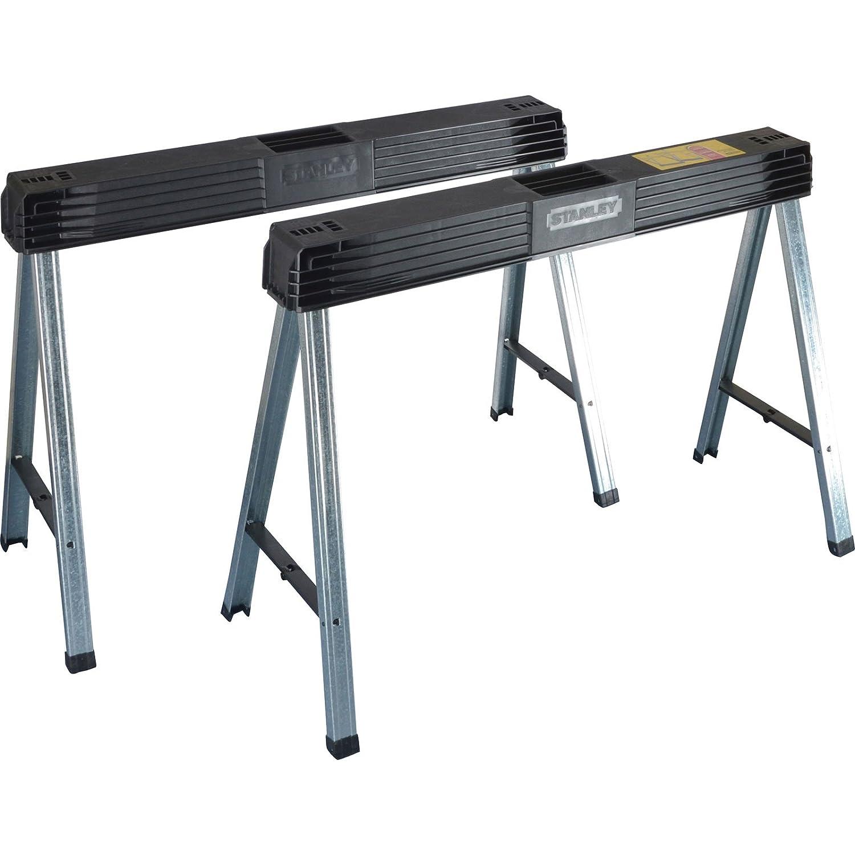 Advanced Stanley Metal plegable pierna para serrar (2 unidades ...