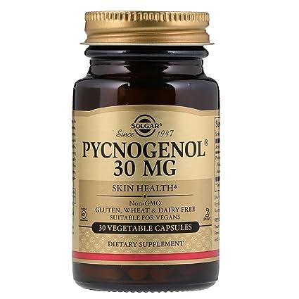 Solgar Pycnogenol Cápsulas vegetales de 30 mg - Envase de 30