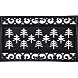Evergreen Flag 2RMS422 Fleur Scroll Coir Switch Mat Tray, Multi-Colored