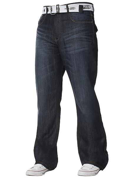 Amazon.com: Kruze - Pantalones vaqueros para hombre, corte ...