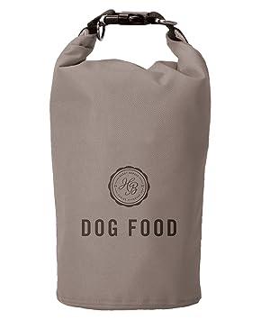 Harry Barker Brown Travel Dog Food Storage Bag