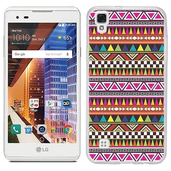 sale retailer 43128 7d297 LG Tribute HD case - [Aztec Tribal] (Crystal Clear) PaletteShield Soft  Flexible TPU gel skin phone cover (fit LG Tribute HD)