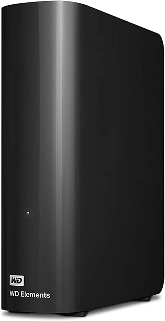 WD 14TB Elements Desktop Hard Drive HDD, USB 3.0, Compatible with PC, Mac, PS4 & Xbox - WDBWLG0140HBK-NESN