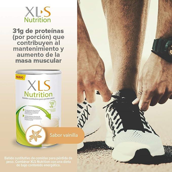 XLS Medical Nutrition + Shaker De Regalo - Batido Sustitutivo De Comidas Para Perder Peso - Ingredientes De Origen Natural - Contiene Todas Las ...