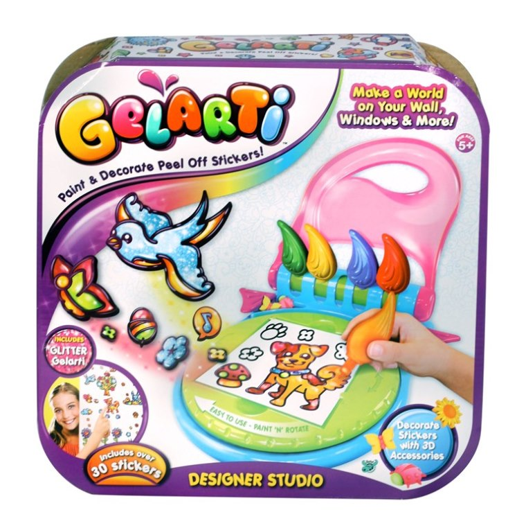 Gelarti designer studio toys games for Amazon gelbsticker