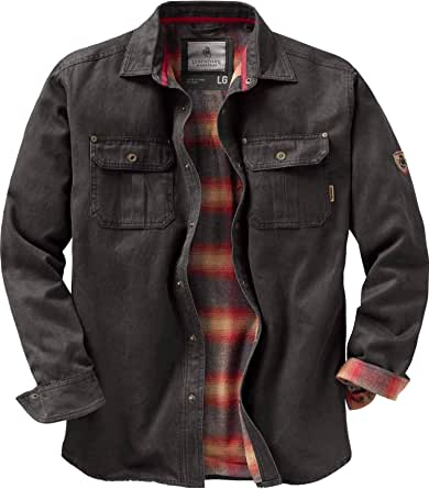 Legendary Whitetails Mens Journeyman Rugged Shirt Jacket