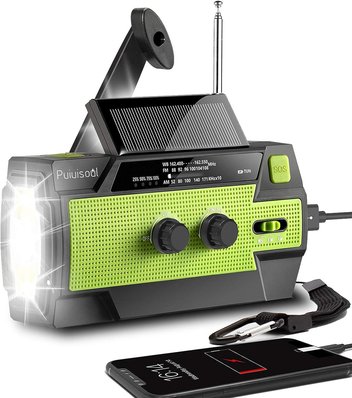 Puiuisoul Emergency-Hand-Crank-Radio