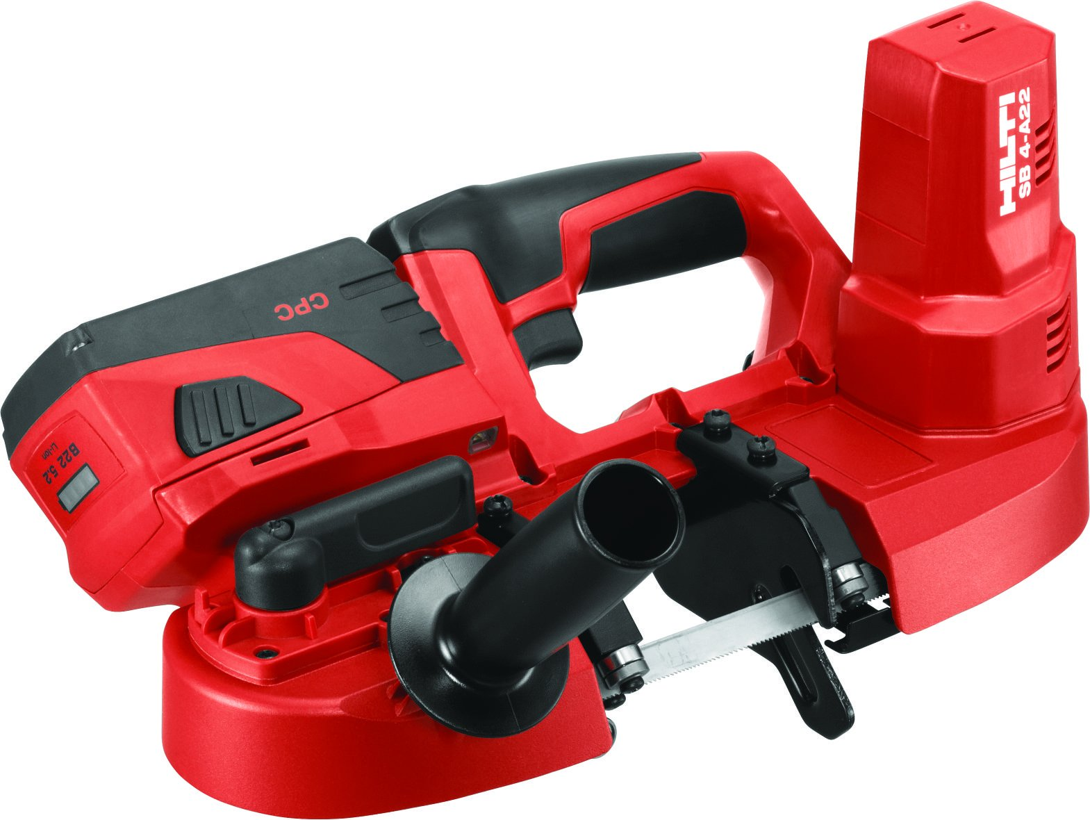 SB 4-A22 Cordless band saw with 22V battery and LED light, for cutting thicknesses up to 64 mm (2 1/2'')