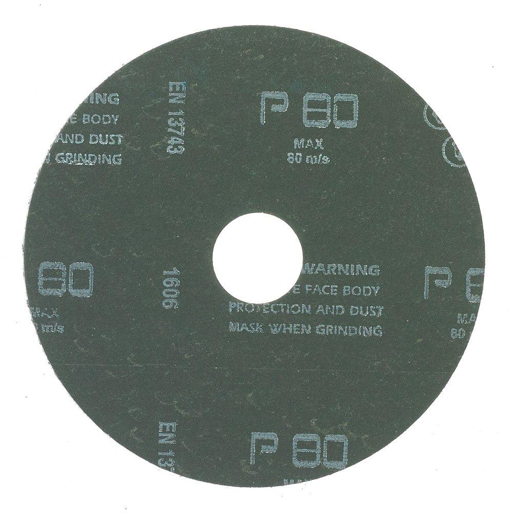 Mercer Industries 301024 24 Grit Aluminum Oxide Resin Fiber Discs 25 Pack 4-1//2 x 7//8