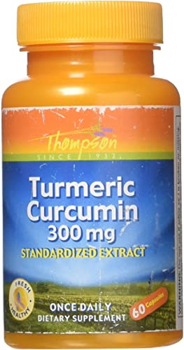 Turmeric Extract 300mg Thompson 60 Caps