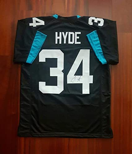 half off 6568d 0ab1e Carlos Hyde Signed Jersey - JSA Certified - Autographed NFL ...
