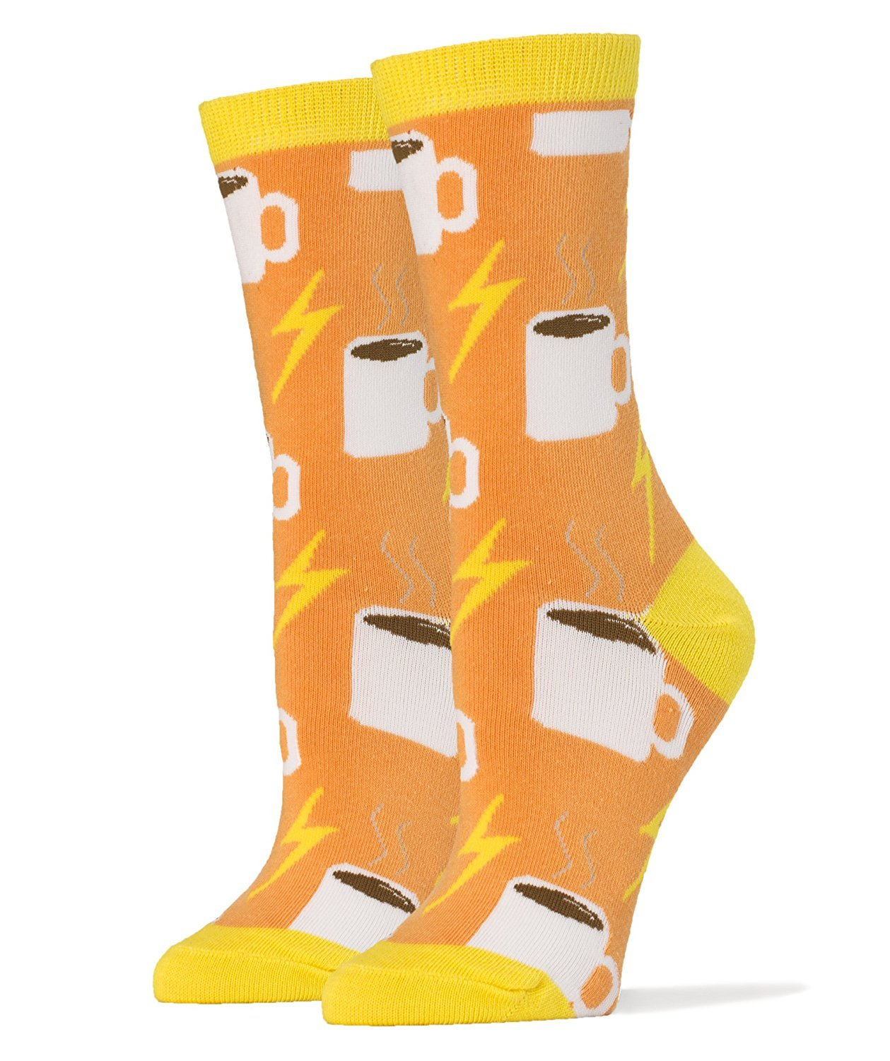 Oooh Yeah Women's Novelty Crew Socks, Funny Crazy Silly Socks, Cool Fashion Socks, Office Socks, Dress Socks