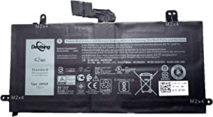 Dentsing 7.6V 42Wh/5250mAh J0PGR Tablet Battery Compatible with Dell Latitude 12 5285 5290 E5285 2-in-1 Series Notebook JOPGR 1WND8 0X16TW FTH6F