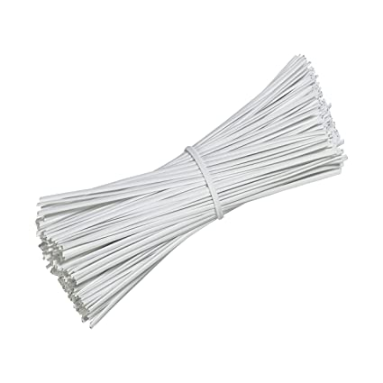 6f0a4e58daf7 Image Unavailable. Image not available for. Color: SumDirect 1000Pcs 4  Inches Plastic Twist Ties ...