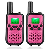 Amazon Price History for:Kids Walkie Talkies, 22 Channel FRS/GMRS 2 Way Radio 2 Miles (up to 3.7 Miles) UHF Handheld Walkie Talkies for Kids Pink
