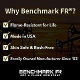 BENCHMARK FR Flame Resistant Face Mask Neck Gaiter, One Size, Beige