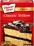 Duncan Hines Cake Mix, Yellow, 15.25 Ounce (Pack of 12)