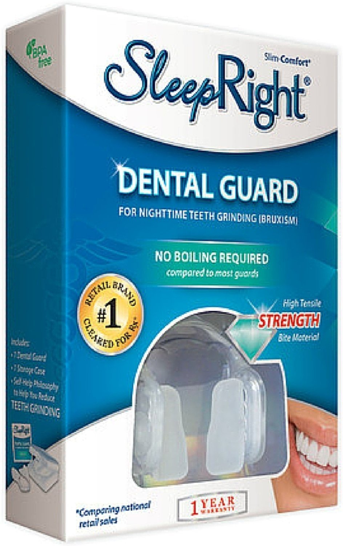 Sleep Right Dura Comfort Dental Guard with FREE Nasal Breathe Aid (1) SPLINTEK 03467
