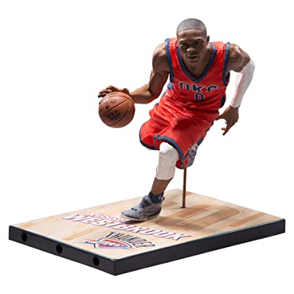 aa0b6527b017 Image Unavailable. Image not available for. Color  McFarlane Toys NBA Series  29 Russell Westbrook Oklahoma City Thunder Collectible Action Figure