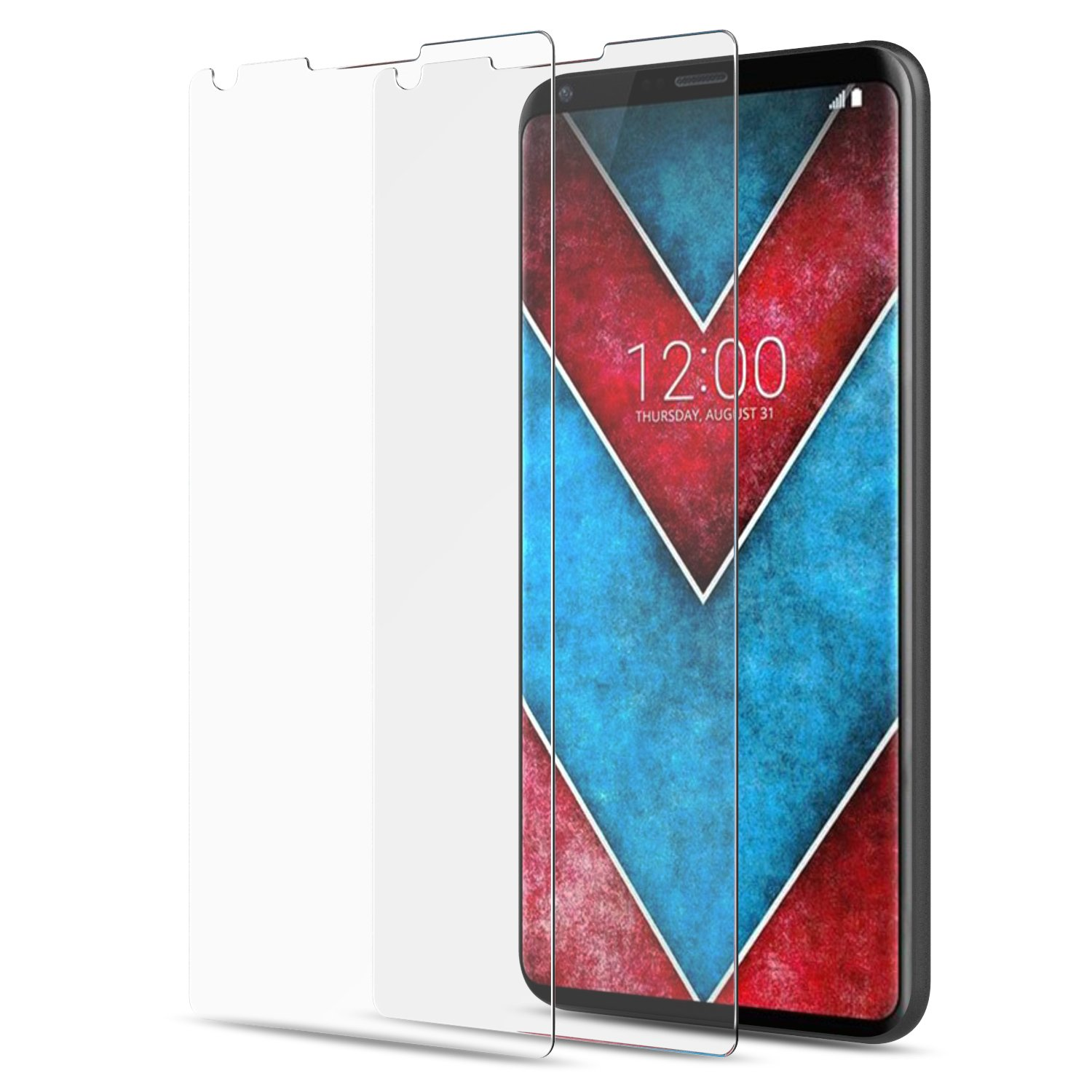 LG V30 Screen Protector Glass - MoKo