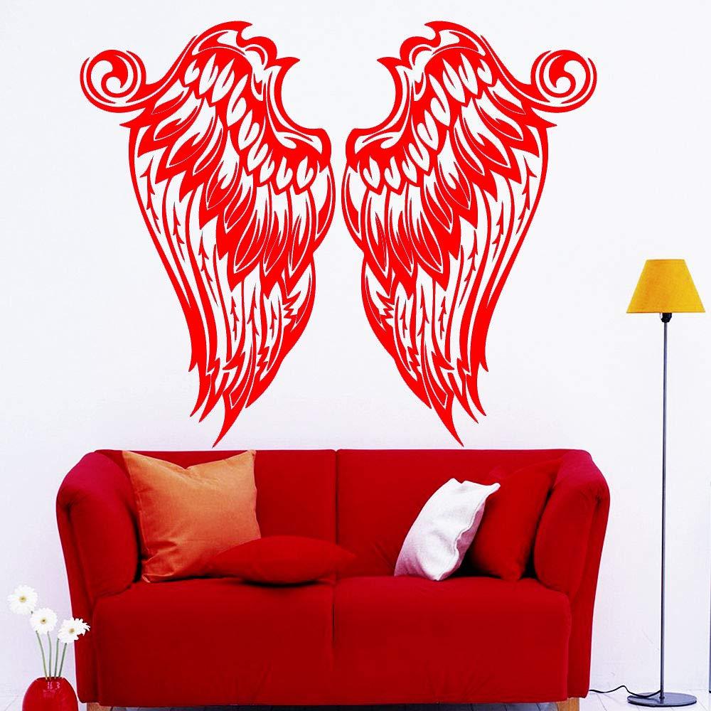 xingbuxin Hermosa alas de ángel Pegatinas de Pared para niños ...