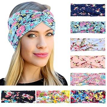 Women Lady Girl Turban Head Wrap Headband Cross Twisted Knotted Hair Band Gift