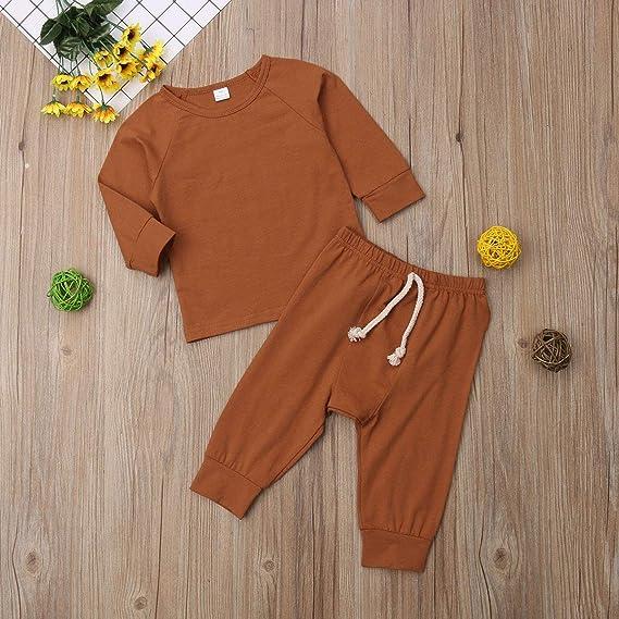 Pant Sets Clothing Sets Aunavey Newborn Baby Boy Girl