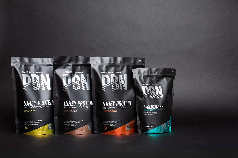 PBN - Premium Body Nutrition PBN - Proteína de suero de leche en polvo, 1 kg (sabor manteca de cacahuete)
