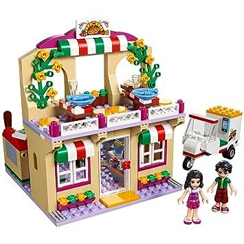 Amazon.com: LEGO Friends Heartlake Pizzeria 41311 Toy for 6-12 ...