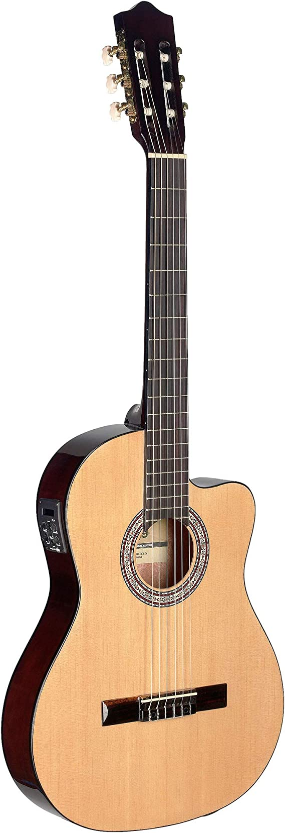 Stagg c546tce - n Electroacústica Natural guitarra clásica: Amazon ...