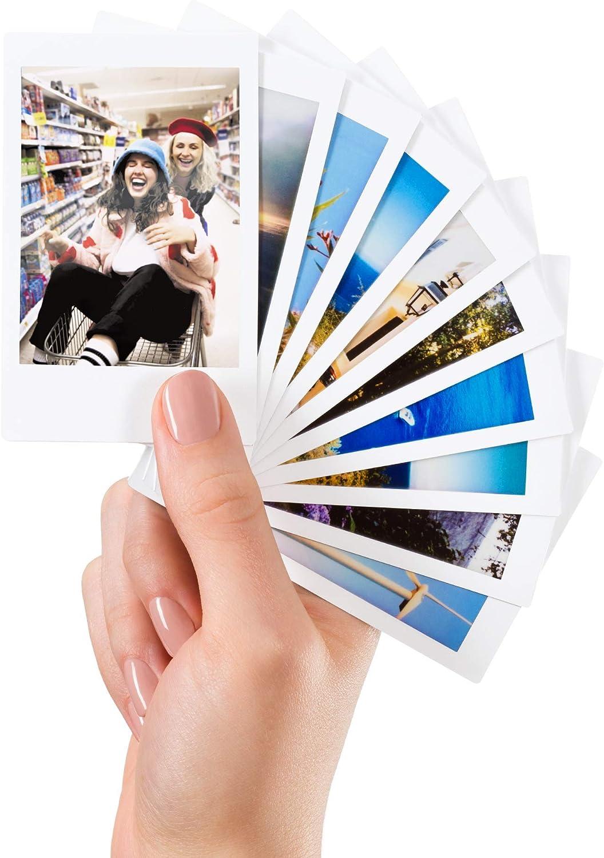 Multicolore 2x10 Films Fujifilm 70100127818/Lot de 110 Autocollants D/écoratifs