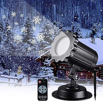 Amazon.com: Syslux - Proyector de luz LED para nieve con ...