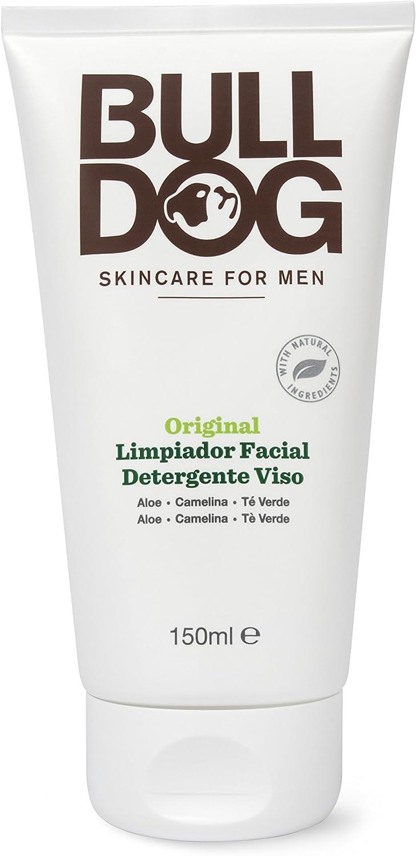 Bulldog Cuidado Facial para Hombres PACK - Set Cuidado Facial Duo, Limpiador 150ml + Crema Hidratante 100ml: Amazon.es: Belleza