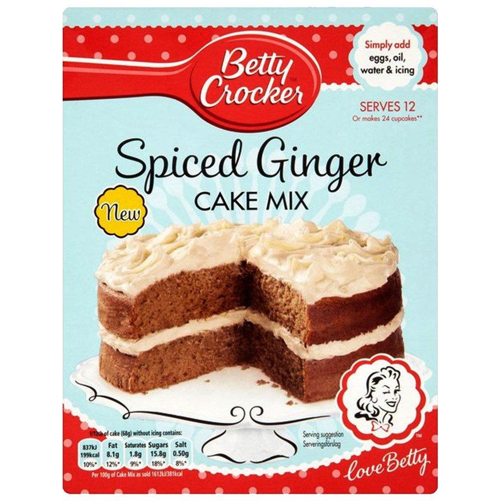 Betty Crocker Spiced Ginger Cake 425g - Pack of 2