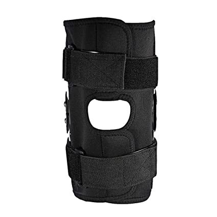 db091555eb Amazon.com: 1PC Aluminium Knee Twin Hinged Support Medical Grade Breathable  Open Patella Brace (Color : XXL): Office Products