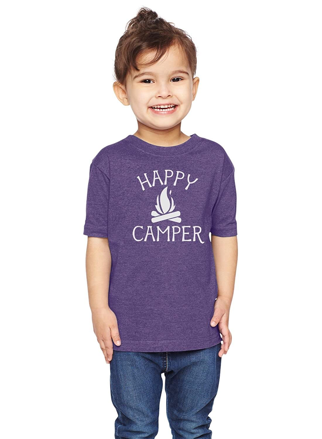 Brain Juice Tees Happy Camper Unisex Toddler Shirt