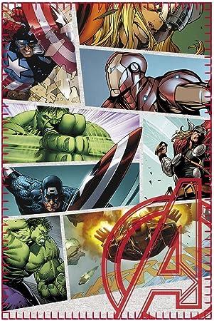 Marvel Comics – Avengers – Couverture polaire – Infinity