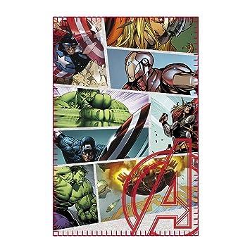 Marvel Comics Avengers Fleecedecke Infinity War Captain