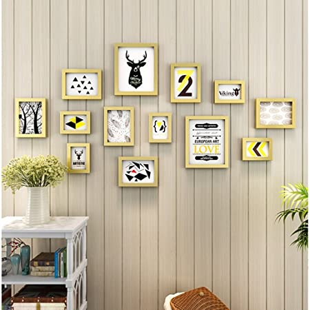 Gy Photo Frame Wall Gallery Kit Wall Mounted Photo Frame Photo