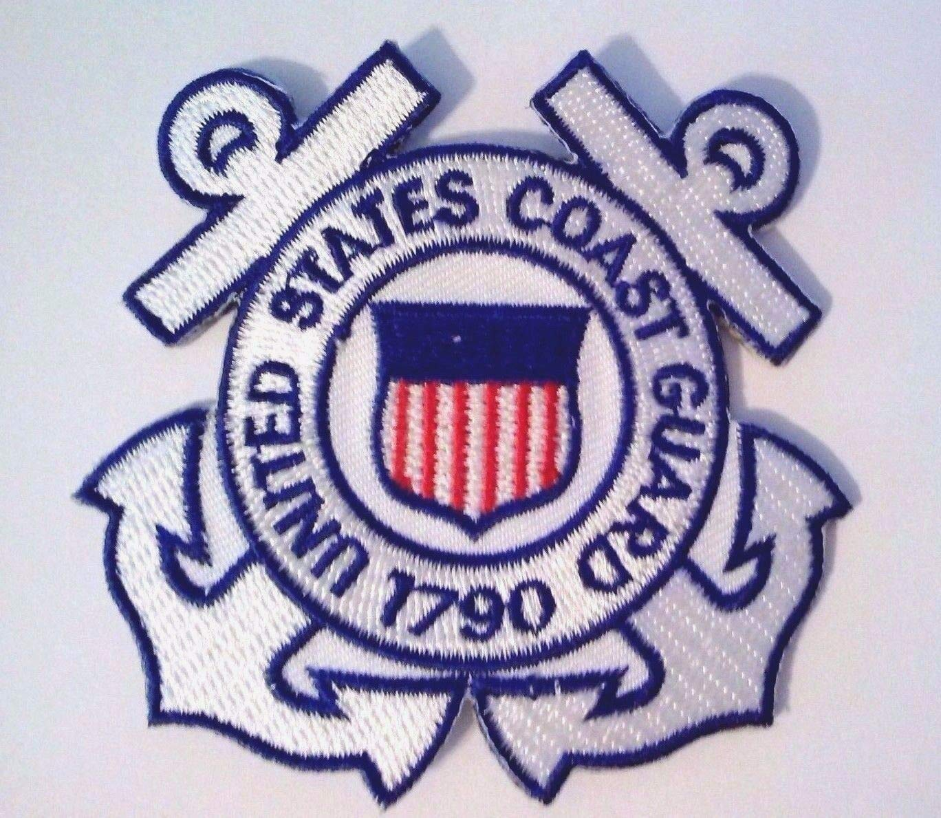 Embroidered Patch - Patches for Women Man - United States Coast Guard by Patcherer