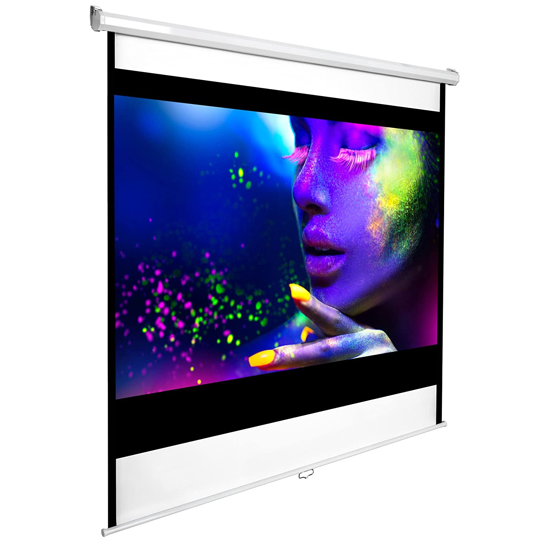 TecTake Pantalla para proyector : : HD desplegable varios modelos xcm No