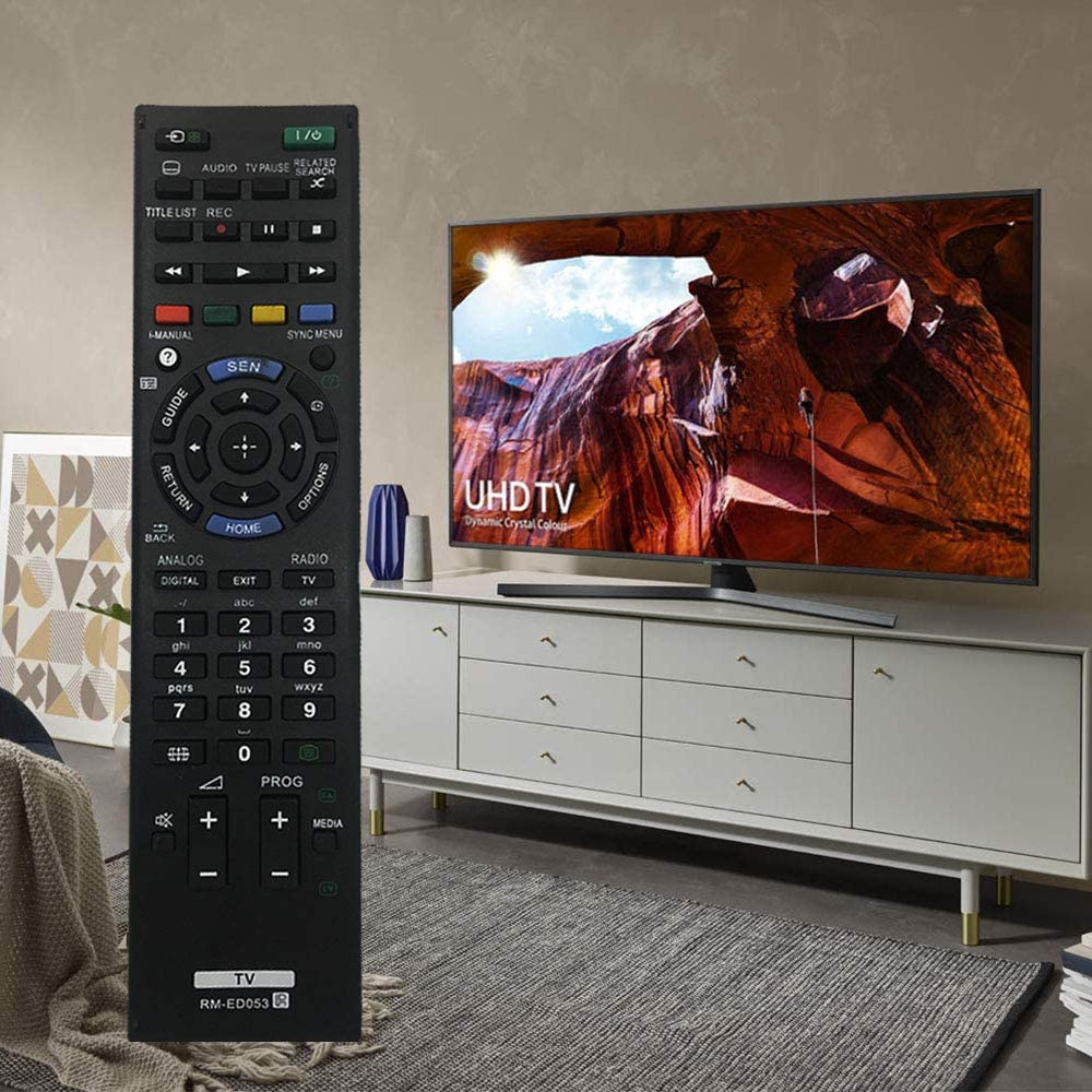 RM-ED053 Reemplazo de Control Remoto Universal para Sony Smart TV Mando a Distancia RM-ED052 RM-ED050 RM-ED047 RM-YD103 RM-ED046 RM-ED044