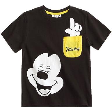 4d53d013 Boys Mickey Mouse T Shirt Kids Disney Tee Short Sleeve Top: Amazon.co.uk:  Clothing