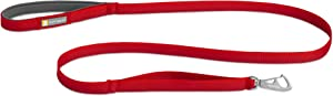 RUFFWEAR - Front Range Dog Leash, 5 ft Lead with Padded Handle for Everyday Walking
