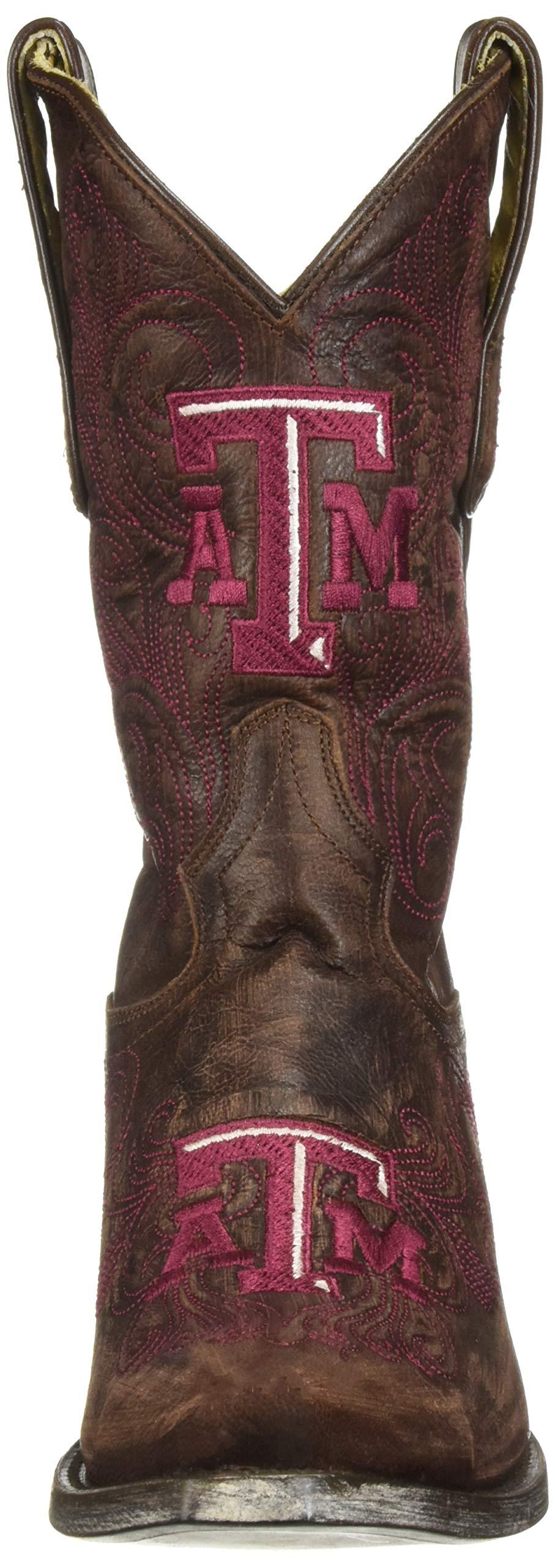 NCAA-Texas-A-amp-M-Aggies-Women-039-s-10-Inch-Gameday-Boot-Choose-SZ-color miniature 5