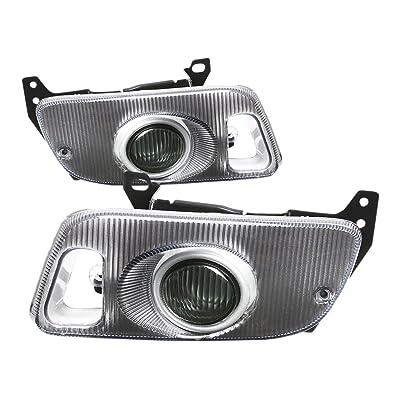DNA MOTORING FL-HC922-SM Front Bumper Fog Light, Driver & Passenger Side: Automotive [5Bkhe0410546]