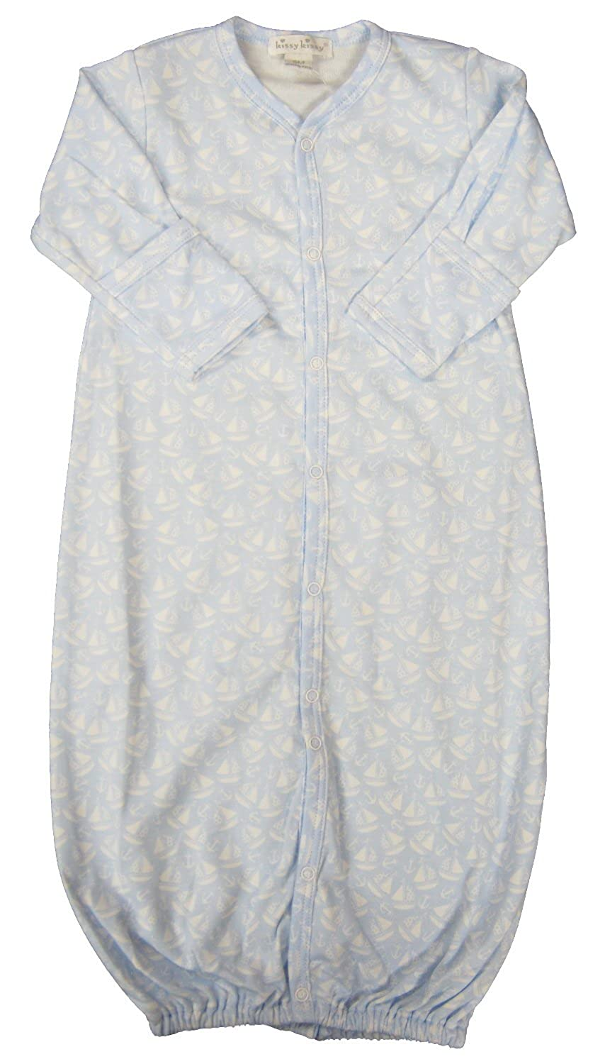 Kissy Kissy Baby-Boys Infant Gone Sailing Print Convertible Gown